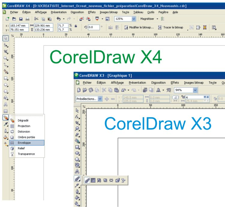 Formation CorelDraw Interface redessiné